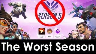 Season 5 is The Worst Season of Overwatch