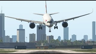Drunk Student Pilot Crashes a Big Plane After Party in Hotel | X-Plane 11