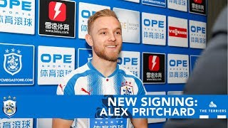 NEW SIGNING: Alex Pritchard on joining Huddersfield Town