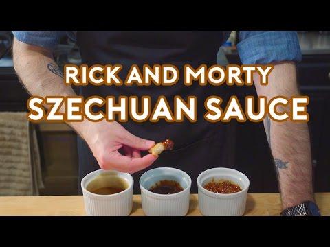 Binging with Babish Rick & Morty Szechuan Sauce
