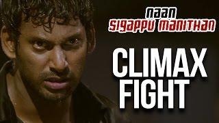 Naan Sigappu Manithan - Climax Fight | Vishal | Lakshmi Menon | Iniya