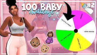 SIMS 4 100 BABY CHALLENGE with A TWIST #2 *NEW LP*