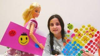 Oyuncak bebek Barbie için evrak çantası yapıyoruz!