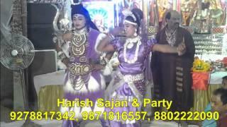 shankar ji and maa parvati jhanki by harish sajan & party