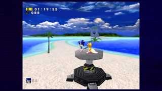 Sonic Adventure DX: Emerald Coast Speed Run (1:19:25)