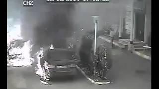 انفجار و آتش سوزی در اثر نشت گاز در کلاردشت بهمن  Watch this                     ۱۳۹۲