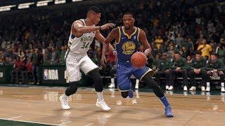 Golden State Warriors vs Milwaukee Bucks | NBA Jan 11th Full Game Bucks vs Warriors (NBA LIVE 18)