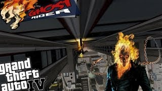 GTA IV LCPDFR Ghost Rider Mod Police Patrol - Episode 7 - Constant Flaming Breath