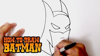 How to Draw Batman - Step by Step Video Lesson