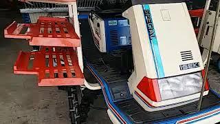 #ขายแล้วคะเก่าญี่ปุ่น รถดำนาเก่าญี่ปุ่น ISEKI SANCE 600  เบนซิน ราคา 55,000.-