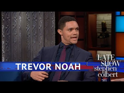 Xxx Mp4 Trevor Noah Was Low Key In Black Panther 3gp Sex