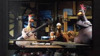 Chicken Run (2000) : Build A Flight Scene
