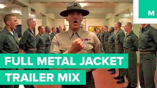 'Full Metal Jacket' as a Wes Anderson Movie | Trailer Mix