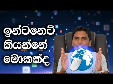 What is Internet & How Does the Internet Work Explained in Sinhala