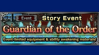 FFBE - Story Event - Guardian of the Order