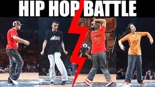 Popping battle : Salah & Pepito vs Nelson & Dey Dey