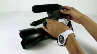Monoprice Shotgun Microphone for DSLR Video Cameras