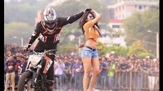 Bike stunt video (dr. hayu)  2016