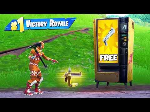 Free Vending Machine ONLY Challenge