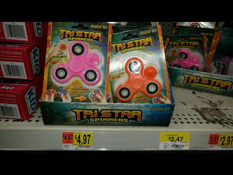 FIDGET SPINNERS AT WALMART!!!!! WHERE TO FIND THEM