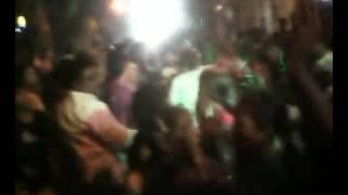 Durga puja dance nilambor