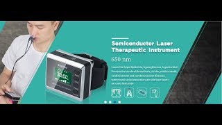 How about the laser therapy watch treatment effect?