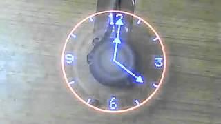 Propeller Fan Led Clock