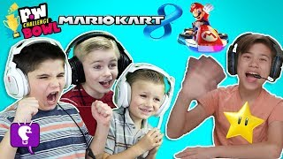 HobbyKidsTV VS EvanTubeHD - MARIOKART 8! pocket.watch Challenge Bowl 2018
