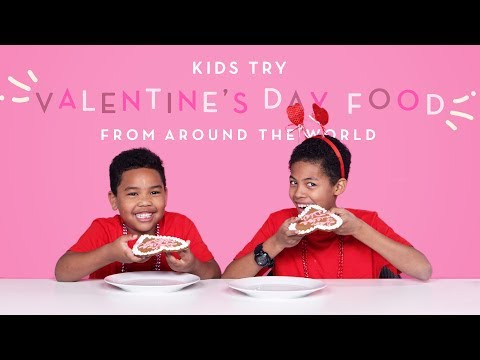 Xxx Mp4 Kids Try Valentine S Day Food From Around The World Kids Try HiHo Kids 3gp Sex