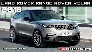 2018 Land Rover Range Rover Velar Review Rendered Price Specs Release Date