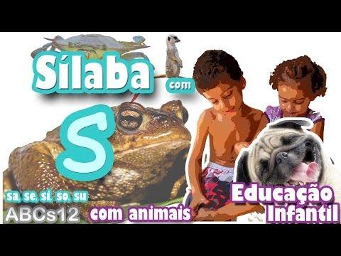 Xxx Mp4 Alfabetização Infantil Silábica ABCs12 S Sílaba S Animais Método De Alfabetização Silábica 3gp Sex