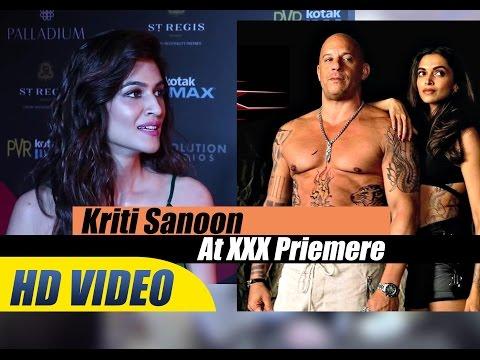 Xxx Mp4 Sweet Kriti Sanoon At XXX Return Of Xander Cage Priemere Deepika Padukon Vin Diesel 3gp Sex