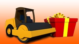 Road Roller | Unboxing Toys | Learn Vehicles by Kids Channel