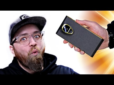Unboxing The 20 000 Smartphone
