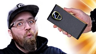 Unboxing The $20,000 Smartphone