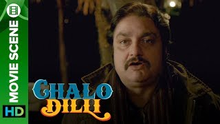 Vinay Patak burps & farts on screen - Chalo Dilli