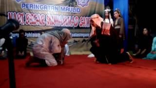 Memperingati maulid,,, drama tentang fir'aun dan masitoh....