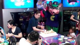 Ashlyn's 3rd Birthday at Chuck E. Cheese!