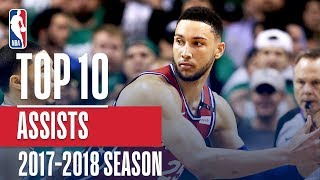 Top 10 Assists: 2018 NBA Season
