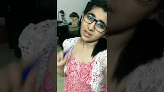 Cute Girl Dubmash - Kadhal Cricket