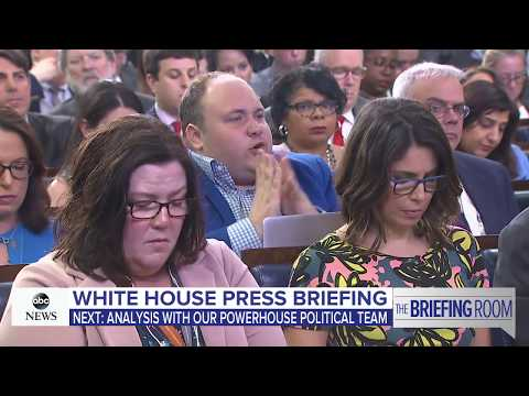 White House Press briefing on Trump's Putin meeting, news conference | ABC News