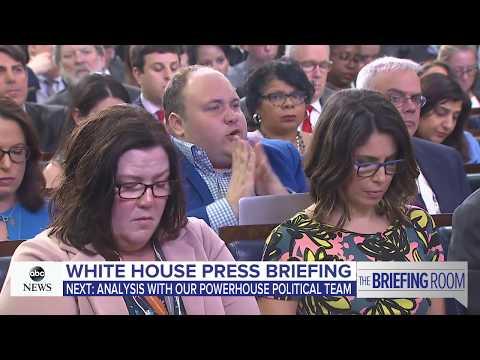 Xxx Mp4 White House Press Briefing On Trump S Putin Meeting News Conference ABC News 3gp Sex