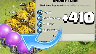 MOST WINS EVER!! | NOOB TRAP BASE | Clash Of Clans