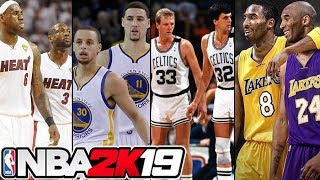The Greatest NBA Duos EVER! NBA 2K19 Challenge