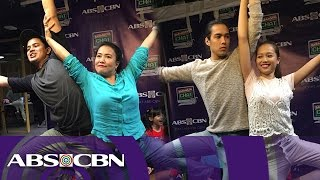 Joey & Diday vs Kit & Cindy in Kapamilya Chat's Do That Pose Challenge