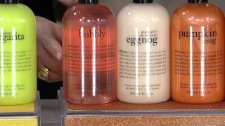 philosophy a year of seasonal shower gels Auto-Delivery on QVC