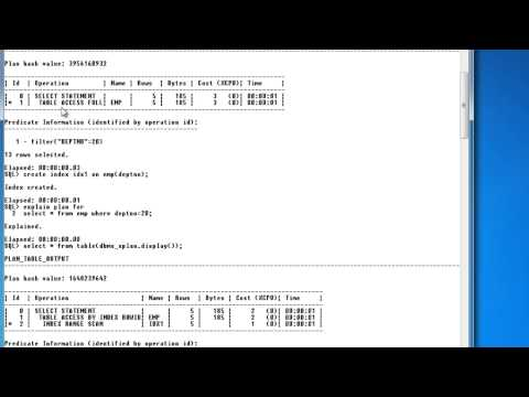 Xxx Mp4 SQL Explain Plan For Knowing The Query Performance 3gp Sex