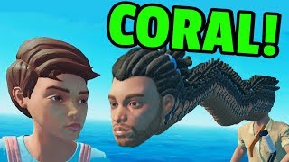 Stuck on a Raft with Rick Grimes - Raft Funny Moments and Fails