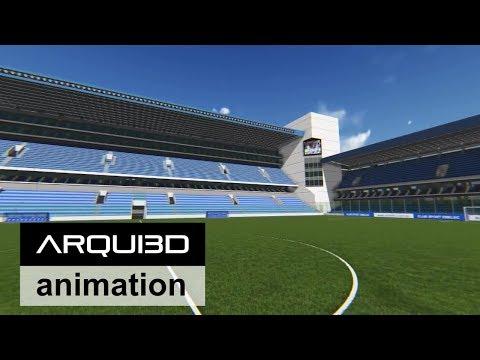 Ampliación Estadio Emelec en Guayaquil Ecuador HD