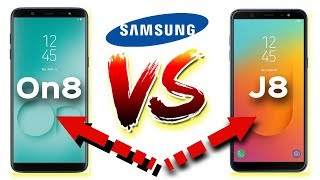 Samsung Galaxy On8 vs Galaxy J8 | Same Smartphone with Different Name | Data Dock